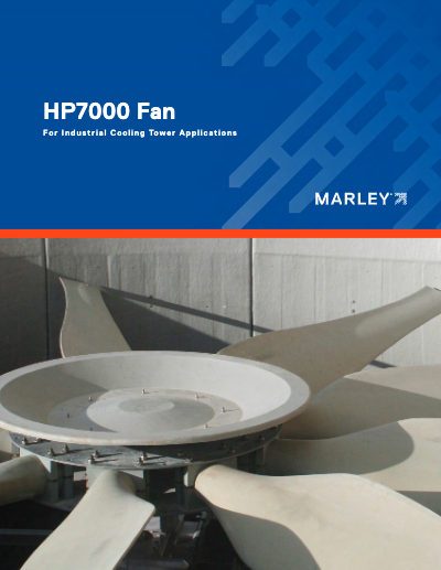 Marley HP7000 Cooling Tower Fan