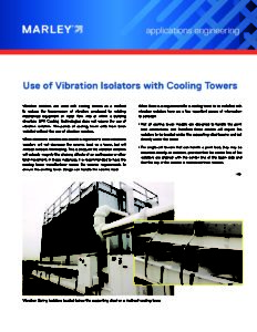 Use of Vibration Isolators
