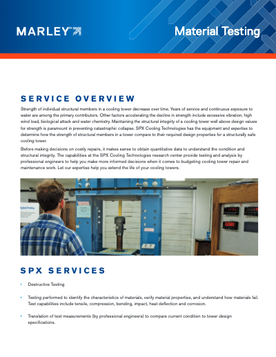 Material Testing Service Overview