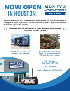 Marley Parts and Service Facility Flyer