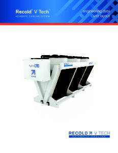 Recold V Tech Adiabatic Fluid Cooler Layout Manual