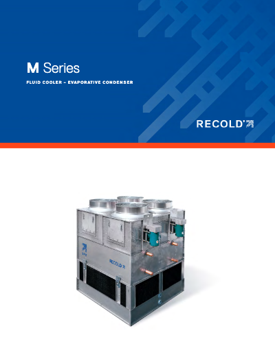 Recold M Series Fluid Cooler and Evap Condenser