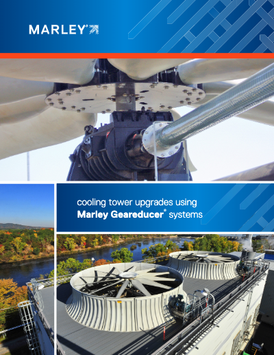 Cooling Tower Upgrades Using Marley Geareducer Systems