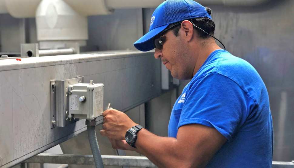 Diagnosing maintenance issues often begins with inspection of mechanical equipment and components subject to wear and tear.