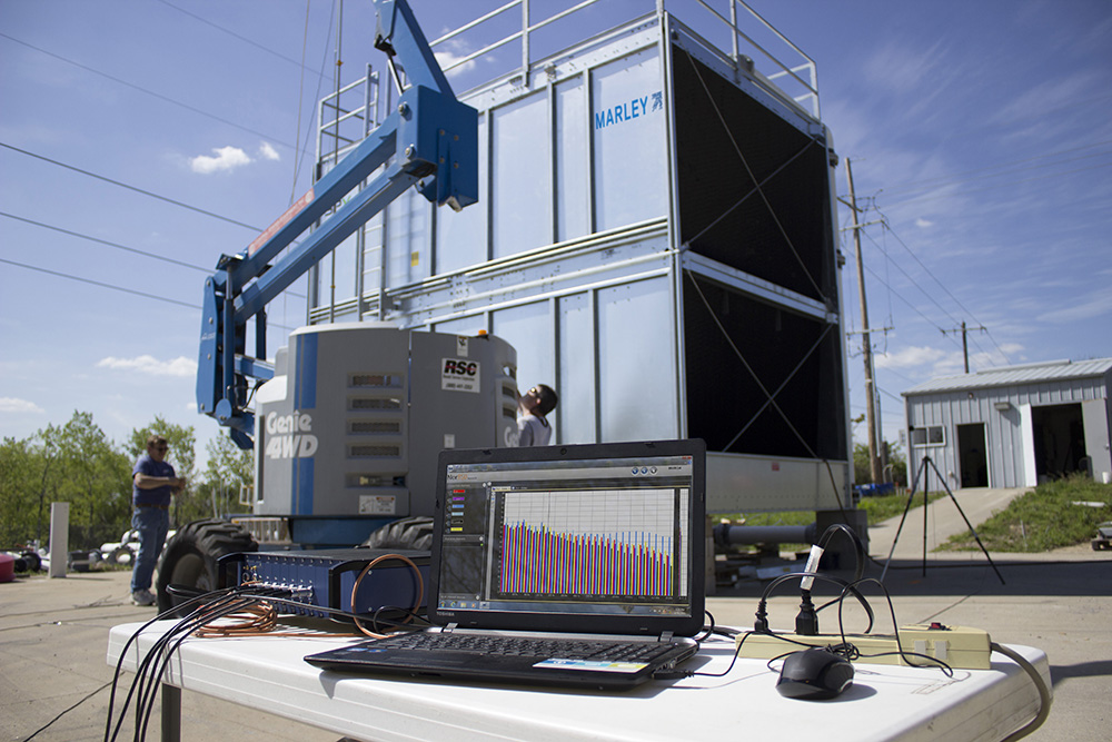 Independent third party verification of manufacturers' cooling tower sound level claims – Such an evaluation is the only objective way to evaluate radiated noise